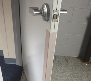 1700 Door Frame Guards – Belroc Group Door Frame Edge Guard on